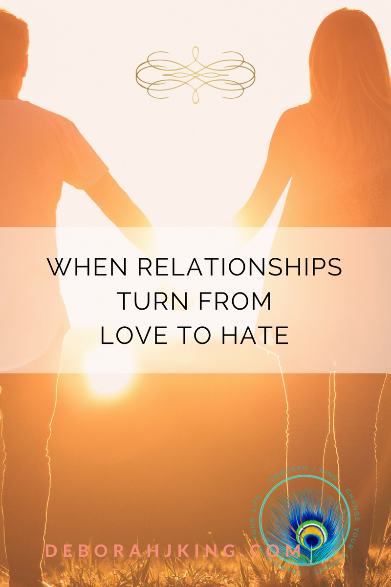 Relationships - What happens when they turn from love to